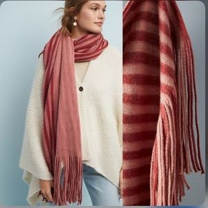 Anthropologie Exclusive Blanket Scarf